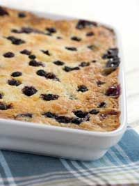 Combine Wild Blueberries with sugar and water in a large saucepan and bring to a boil. Reduce heat and simmer until berries are soft and begin to thicken, about 5 minutes. Mix flour, baking powder, sugar and salt together. Cut in butter. Gradually stir in enough milk to make a soft dough. Drop the batter by tablespoons on top of the simmering berry sauce. Immediately cover saucepan and cook over low-medium heat 15-18 minutes. Old Fashioned Wild Blueberry Grunt serves 4 to 6.<&#x2F...