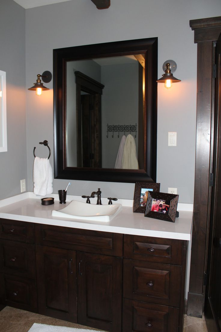 Bathroom mirror framing kits - This Gorgeous Sleek Modern Frame Is Just Stuck To The Glass Of The Existing Mirror