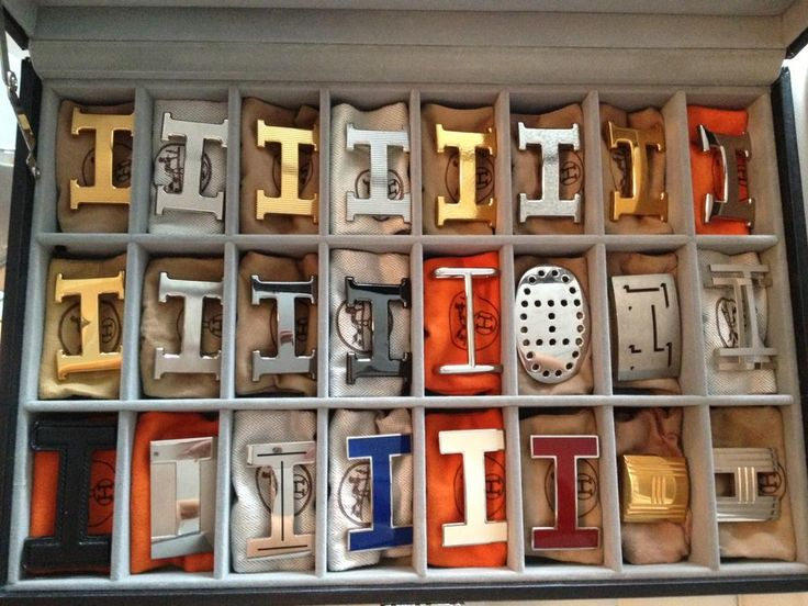 Hermes belt buckles. Ill take one of each, please...