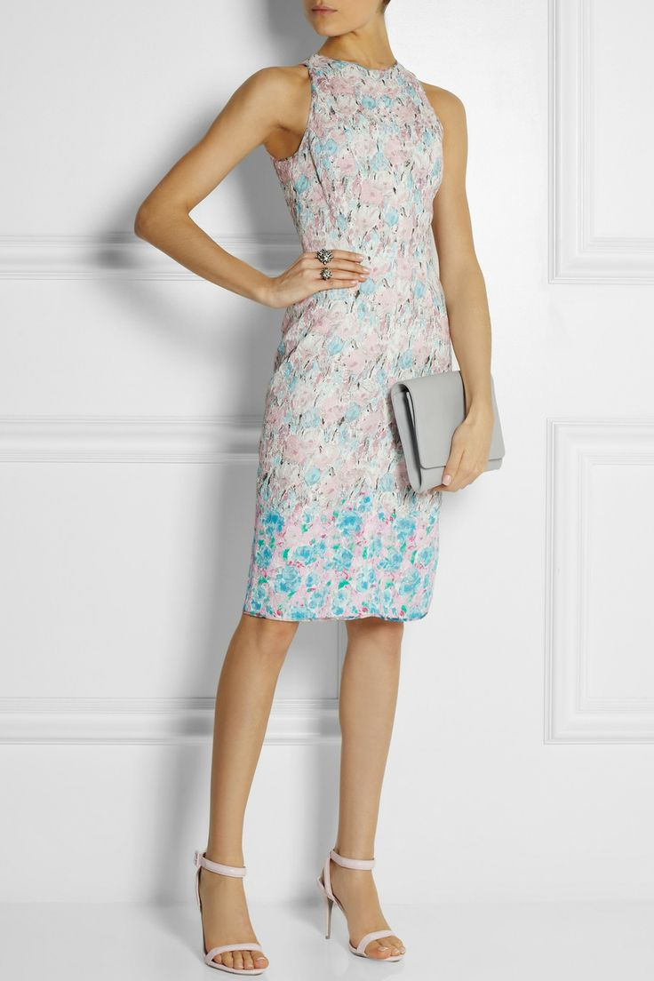 Nina Ricci|Floral-print lace dress|NET-A-PORTER.COM