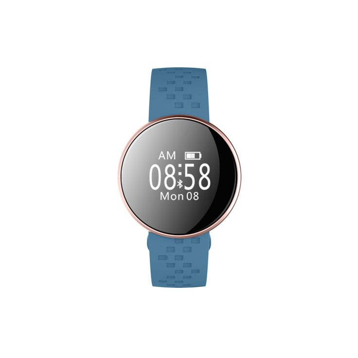 Smart Fitness Watch with Heart Rate Monitor in Blue | Buy Gym & Fitness