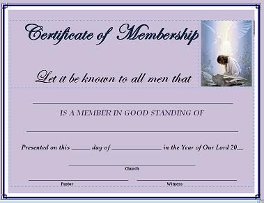 Best Membership Certificate Template Images On