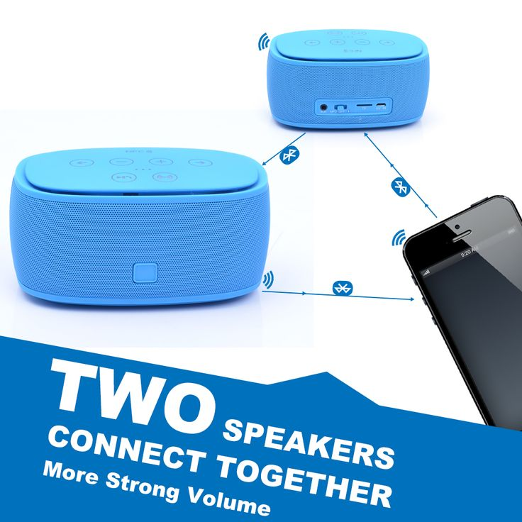 ortable music bluetooth speakers with wireless and Subwoofer Speaker support TF/MICRO NFC DHL