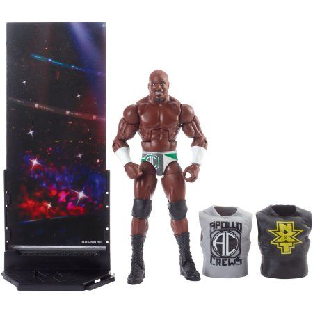 WWE Elite Collection Apollo Crews Action Figure