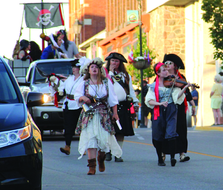 1000 Islands Pirate Days~  featuring an enhanced Pirate Village with buskers, artisans, pirate demonstrations, family games and great waterfront entertainment!  A pirate parade storms King Street on Friday night as pirates of all sorts make their way to the waterfront. Friday and Saturday offer great family fun during the day and at night the pirate village will be hosting great entertainment on the waterfront stage.  Event Details July 10, 2014- July 13, 2014…