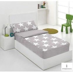 SACOS NORDICOS STARS gris cama 90