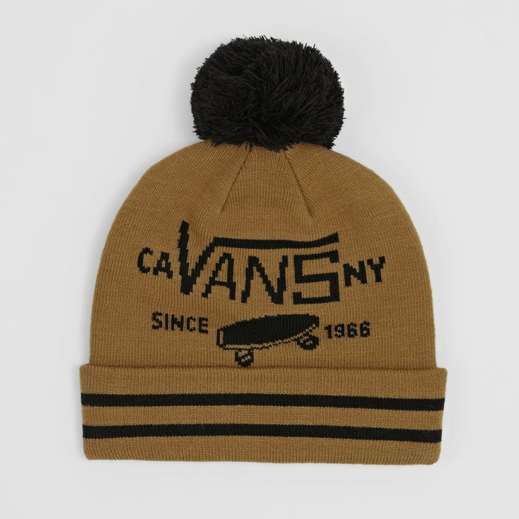 Vans Boy's Full Patch II Bobble Beanie. Pin-To-Win your Christmas wish list at Surfdome!