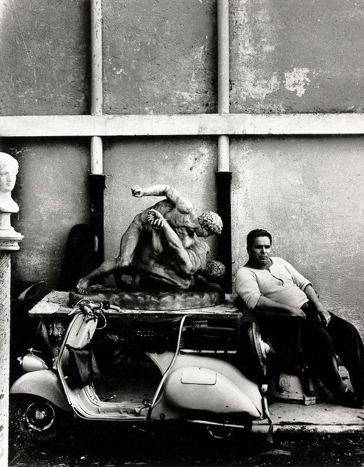 William Klein (né en 1928), Cinecittà, Rome, Italie, 1957, épreuve argentique…