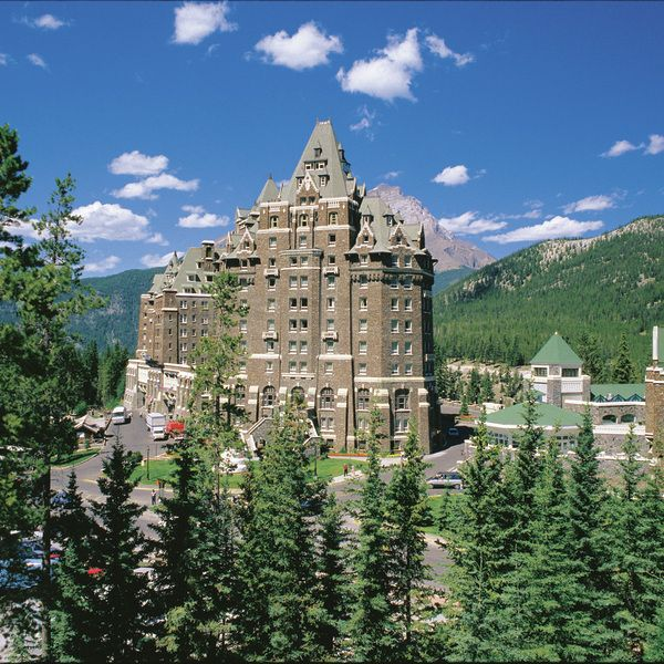 Check out this slideshow Fairmont Banff Springs Hotel  in this list The Best Hotels in Canada