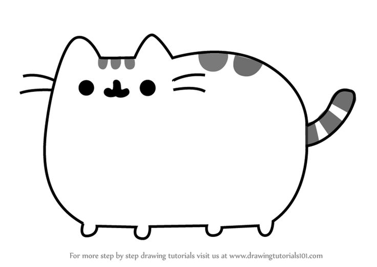 Learn How to Draw Pusheen the Cat