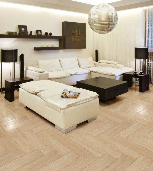 Flooring  Experience Ecstatic Wooden Flooring Design Inside Your Dwelling:  E Otic White L Sofa