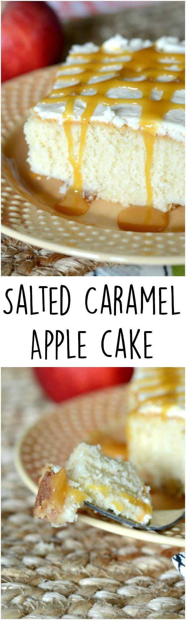 Salted caramel cake!