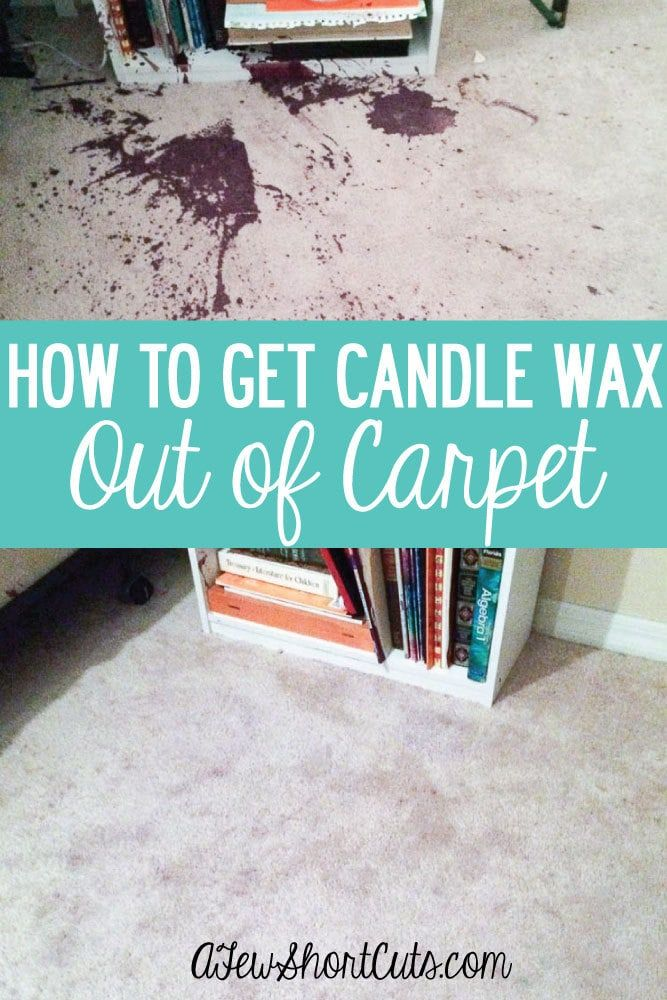 How To Get Candle Wax Out Of Carpet How To Clean Carpet Candle Wax Carpet Stains