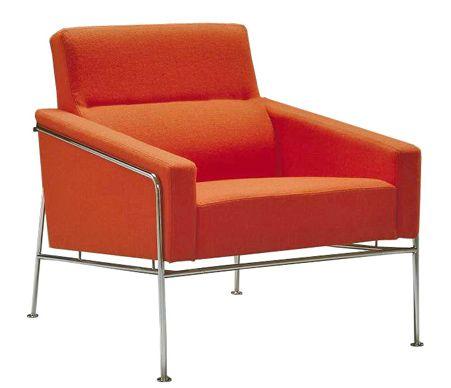 Arne Jacobsen, Series 3300 Easy Chair, for Fritz Hansen, 1958