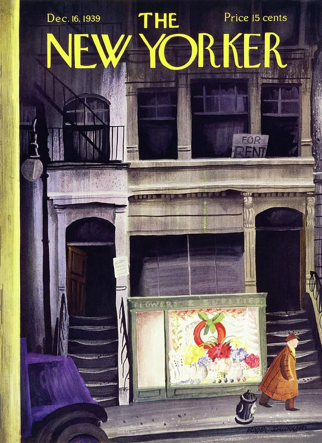The New Yorker Christmas Cover 2020 New Yorker December 16 1939 in 2020 | New yorker covers, The new
