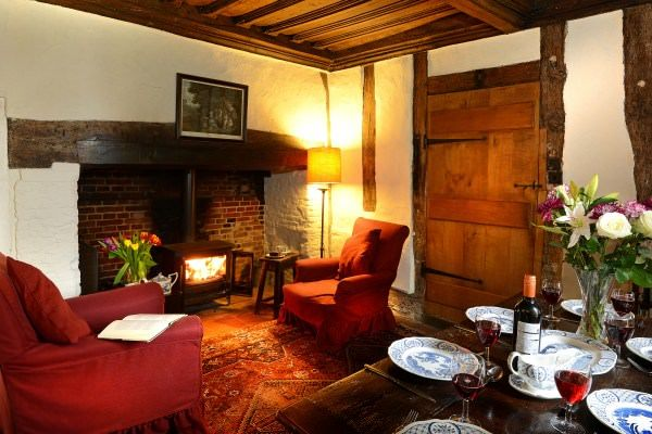 Holiday at Ancient House, Clare, Suffolk