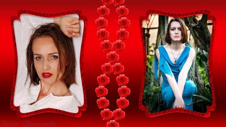 Красные розы |  Red roses | Project for ProShow Producer