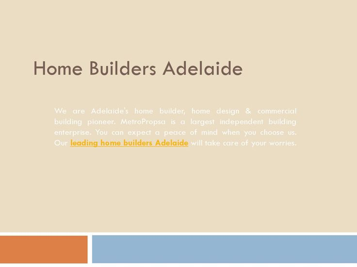 Looking for #home #builders in #Adelaide? MetroPropsa is one the best home builders in Adelaide. For more details visit website: http://goo.gl/IkKeut