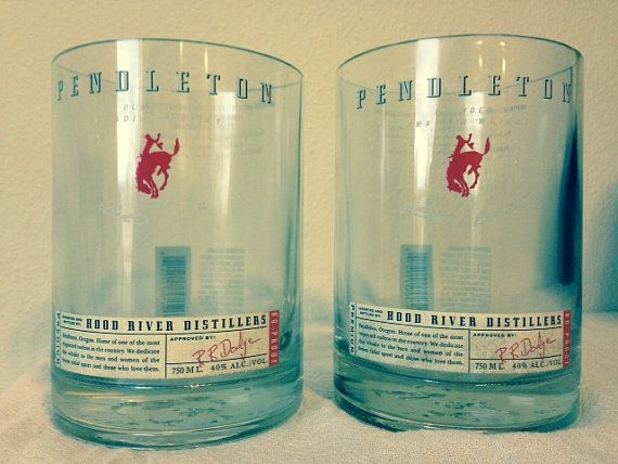 Pendleton Whiskey Tumblers by HartMadeDesigns on Etsy, $32.00