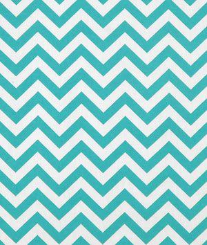 Premier Prints Outdoor Zig Zag Ocean Fabric - $10.98 | onlinefabricstore.net