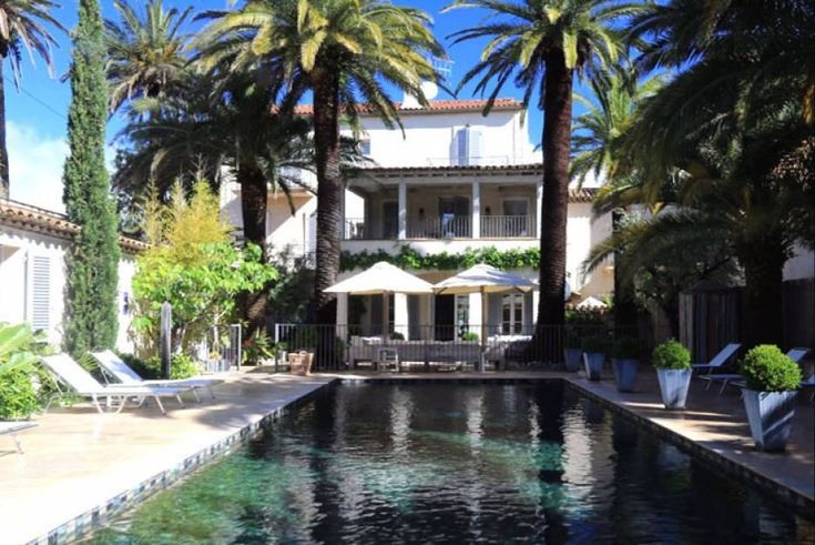Pastis Hotel St Tropez - Chambres de charme St-Tropez, piscine