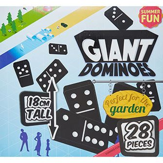 Giant Outdoor Dominoes Set