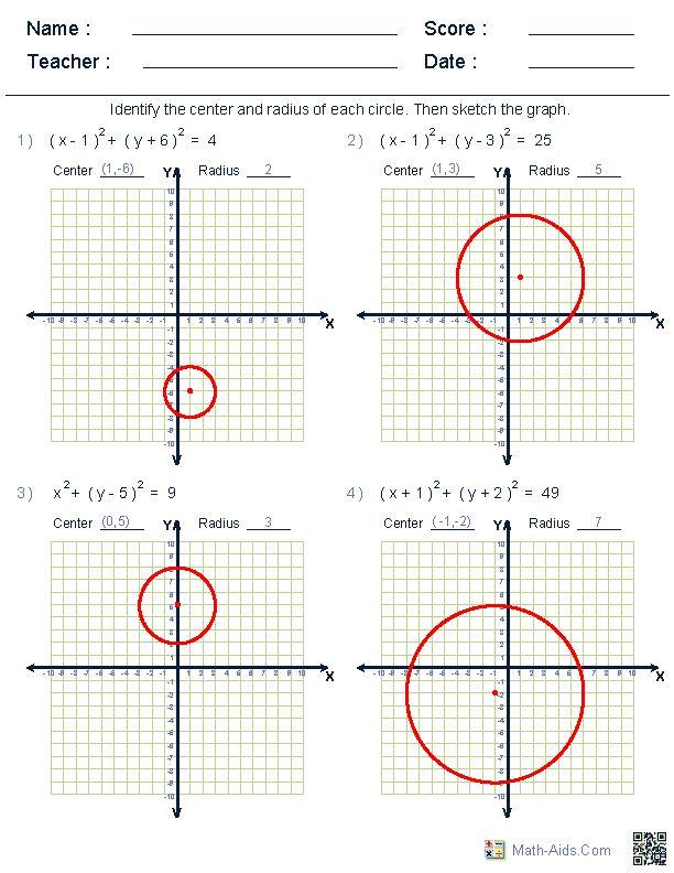 Math Worksheets Dynamically Created Math Worksheets Geometry Worksheets Math Worksheets Math Geometry