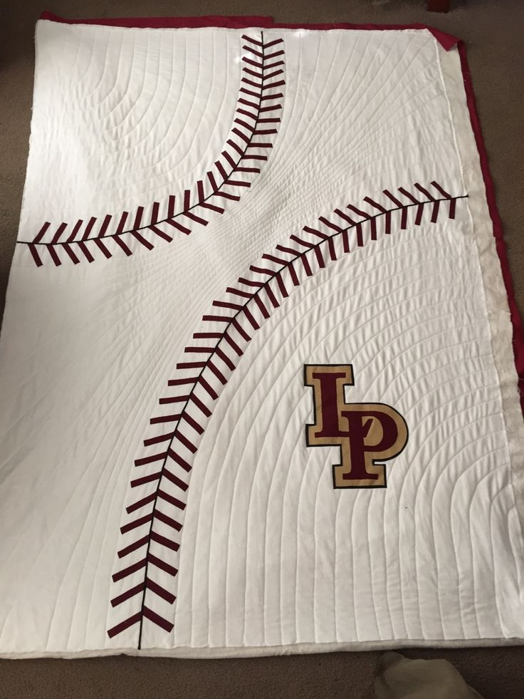 160 Best Images About Sports Quilts ⚾⚽ On Pinterest