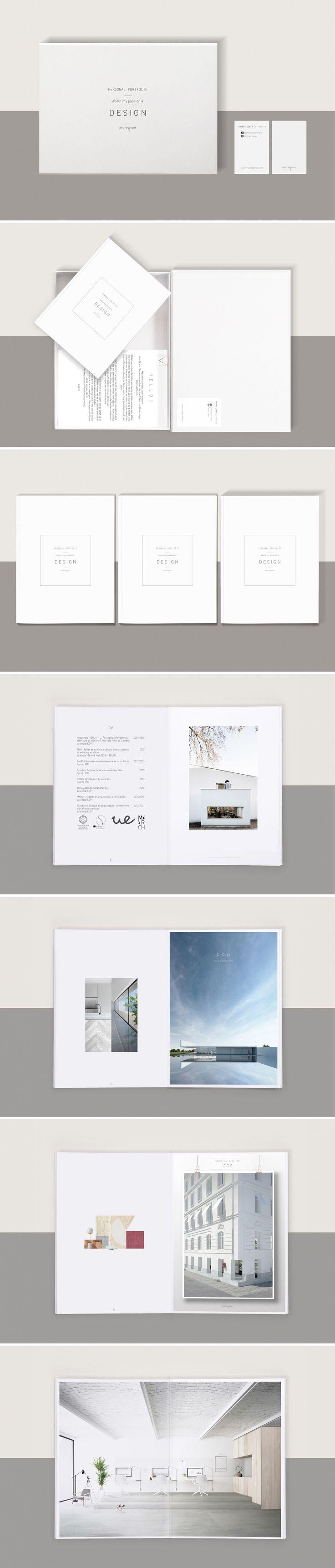 potfolio andres jover portfolio layout graphic design architecture book - Design Portfolio Ideas