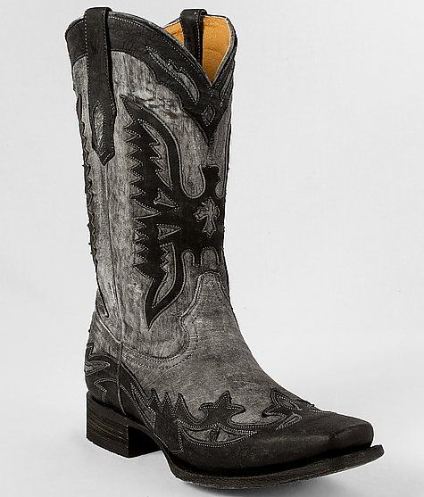 """Corral Grey Eagle Cowboy Boot"" www.buckle.com"