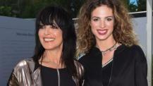 Nena mit Tochter Larissa