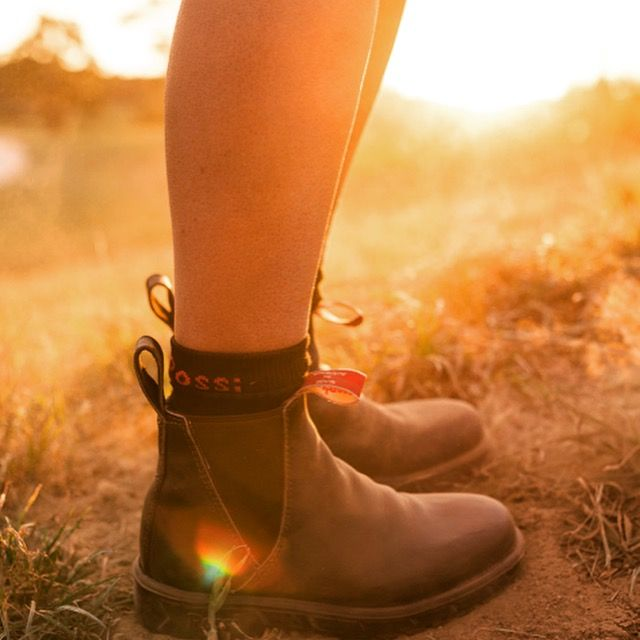 Rossi Boots 'Musk 340' work boot for women. Designed and made in Australia.