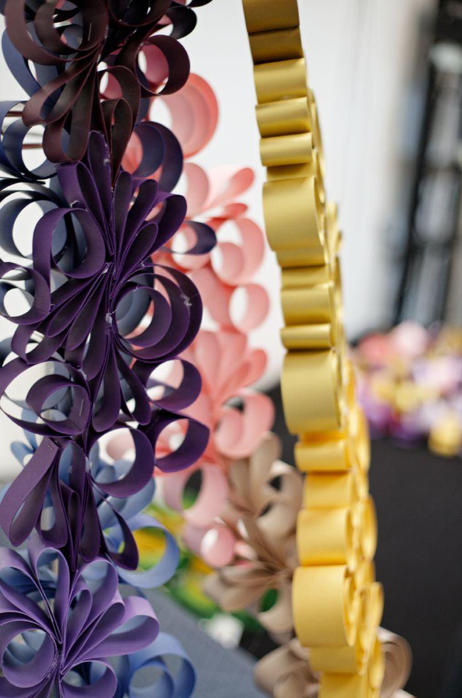Gold color cardstock paper - Shimmer Card Stock Paper Gold Ish Swirling Paper Garland