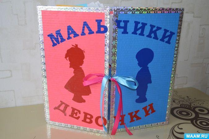 Лэпбук по гендерному воспитанию «Мальчики и девочки» (средний дошкольный возраст) Фото