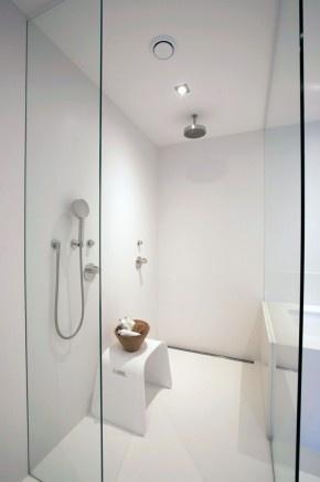 Douche blanche minimaliste !