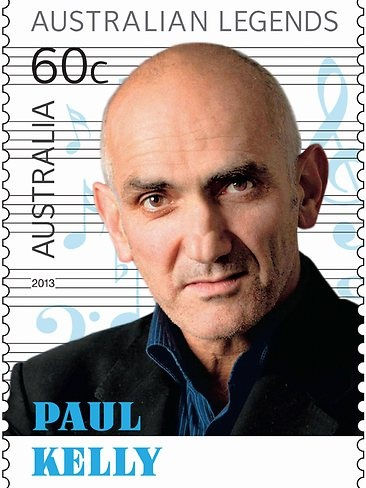 Paul Kelly, legendary Aussie singer-songwriter-poet - 2013 Australia Post Legends
