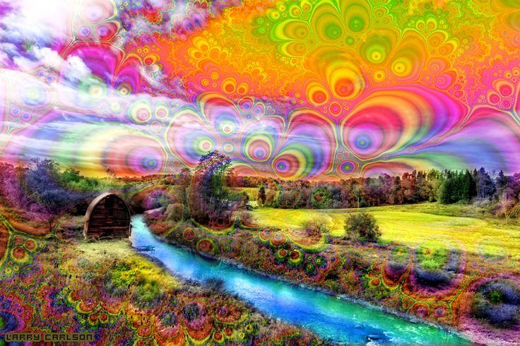 psychedelic landscape - Google zoeken | Psychedelic ...