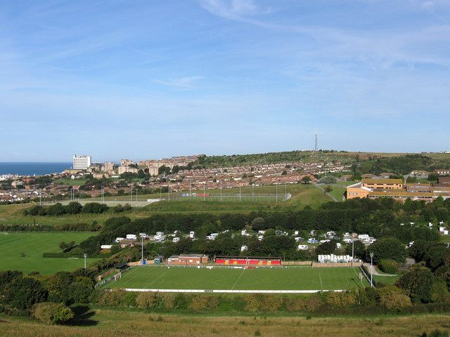 The Enclosed Ground, Whitehawk FC. Home to Whitehawk since the late 1950s.