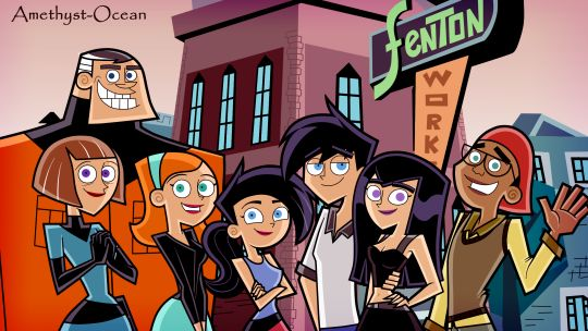 Danny phantom. 2 years after the series? << That is definitely not 2 years later.. Danny and Jazz look like they're probably in their 20s. But I love this <3
