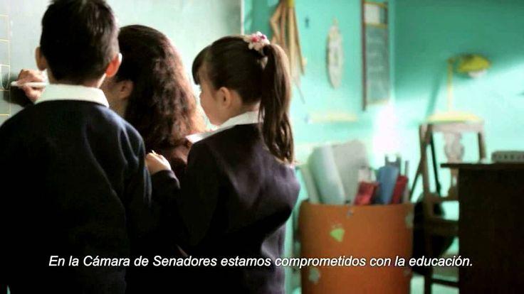 SPOT Cámara de Senadores. Reforma Educativa.