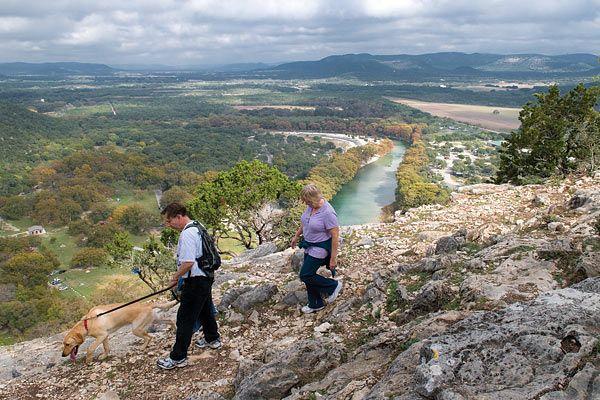 Texas' most visited state park, Garner State Park west of ...