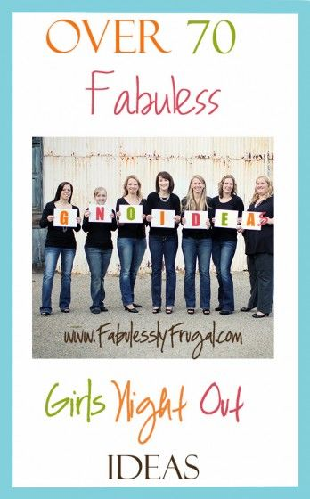 Frugal Girls' Night Ideas | Fabulessly Frugal: A Coupon Blog sharing Amazon Deals, Printable Coupons, DIY, How to Extreme Coupon, and Make Ahead Meals