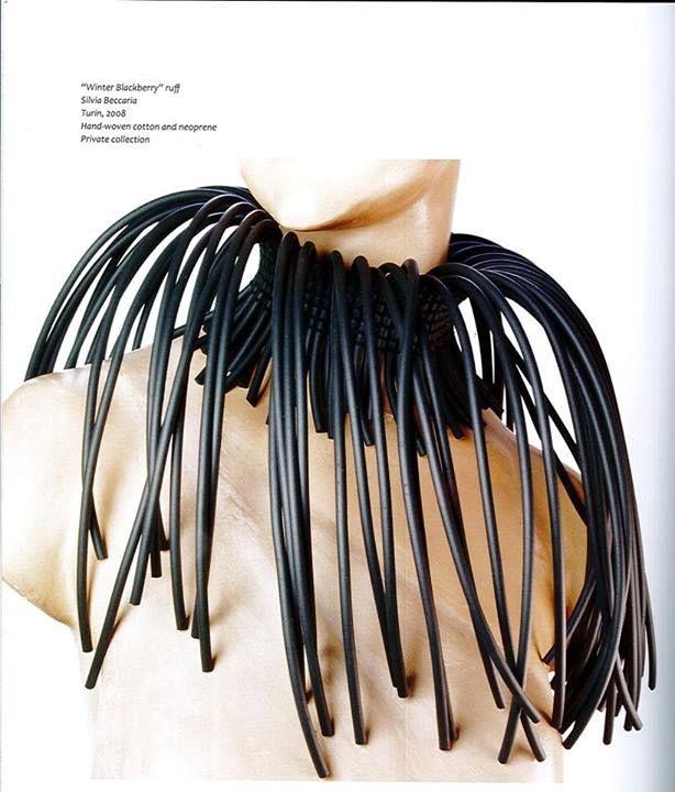 """Gorgiera """"Mora d'Inverno"""" di Silvia Beccaria  2008"""