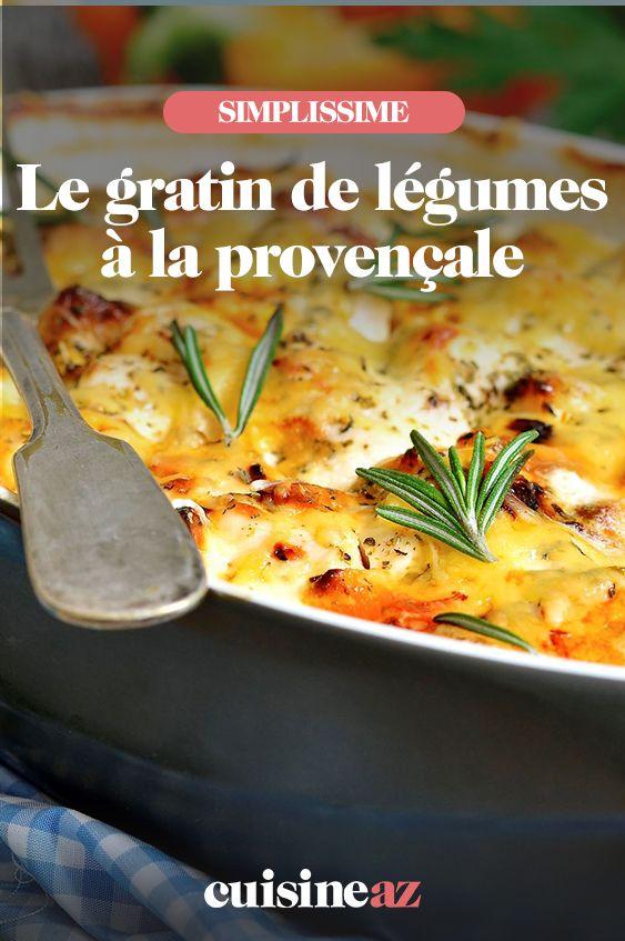 Gratin de légumes à los angeles provençale