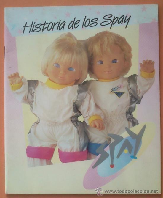 CATALOGO JUGUETES CUENTO HISTORIA DE LOS SPAY - FAMOSA 1986