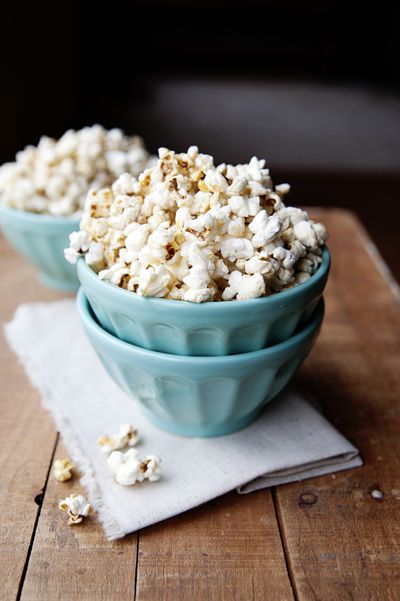 maple glazed popcorn