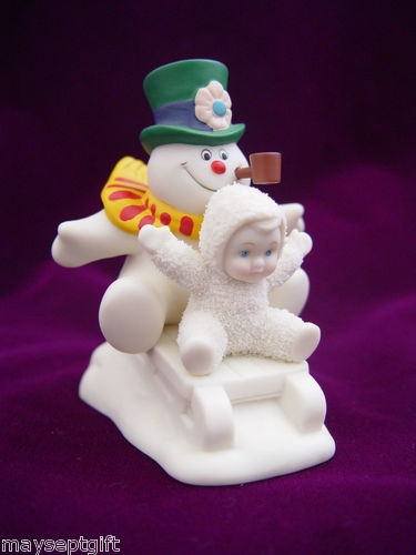$9.99 Fun With Frosty the Snowman Snowbabies Figurine