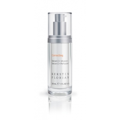 Serum C+ Infusion 30ml, £72.50 Serum C+ delivers pure Vitamin C to boost firmness, improve tone and brighten the skin. Helps to reduce the appearance of fine lines.