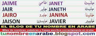 para tatuajes de nombres: JAIME, JAIR, JAIRO, JAISON