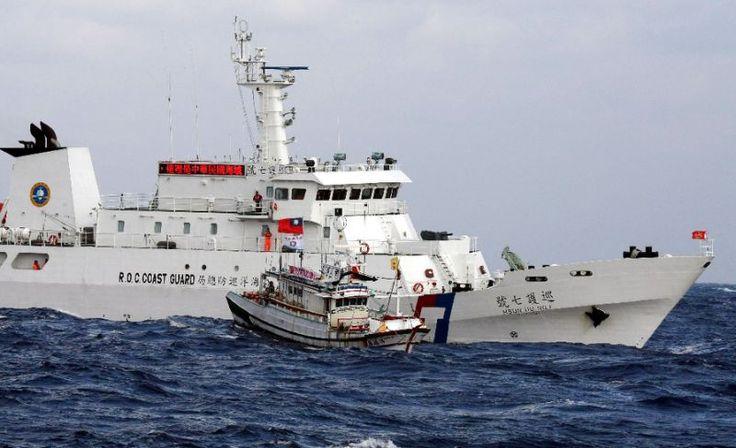Taiwan envia navios patrulha após barco de pesca ser apreendido pelo Japão